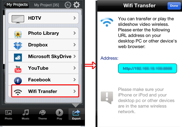 how to get internet from computer onto iphone