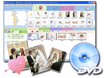 wedding slideshow software
